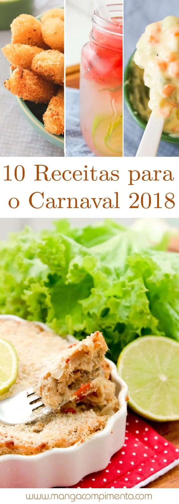 Confira 10 Receitas para o Carnaval 2018 | Perfeito para Folia de Verão