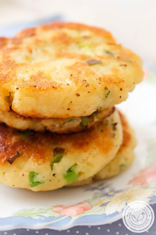 Panquecas de Batata com Queijo | Para um Almoço leve de Verão