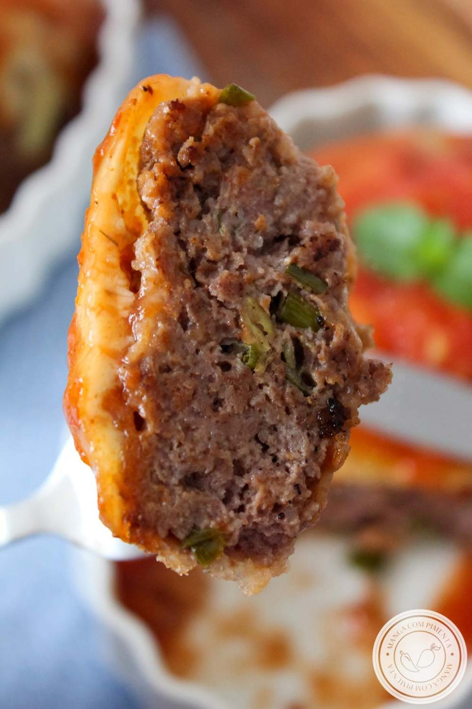 Bife de Carne Moída à Parmegiana | Para o almoço ou jantar da Semana!