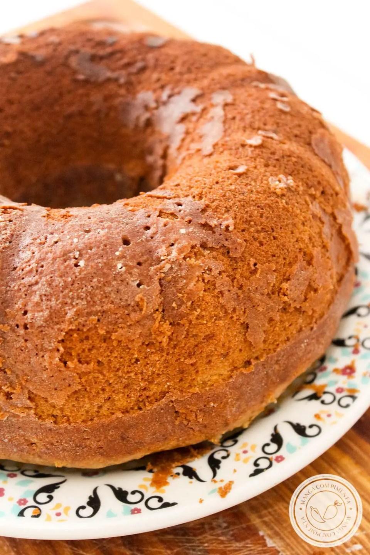 Bolo Café com Leite | Para servir no Café da Manhã ou no Lanche da Tarde!