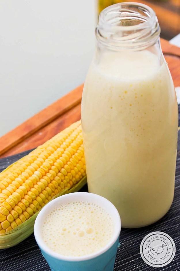 Suco de Milho Verde Cremoso | Aprenda a fazer essa bebida deliciosa, com gostinho do interior!