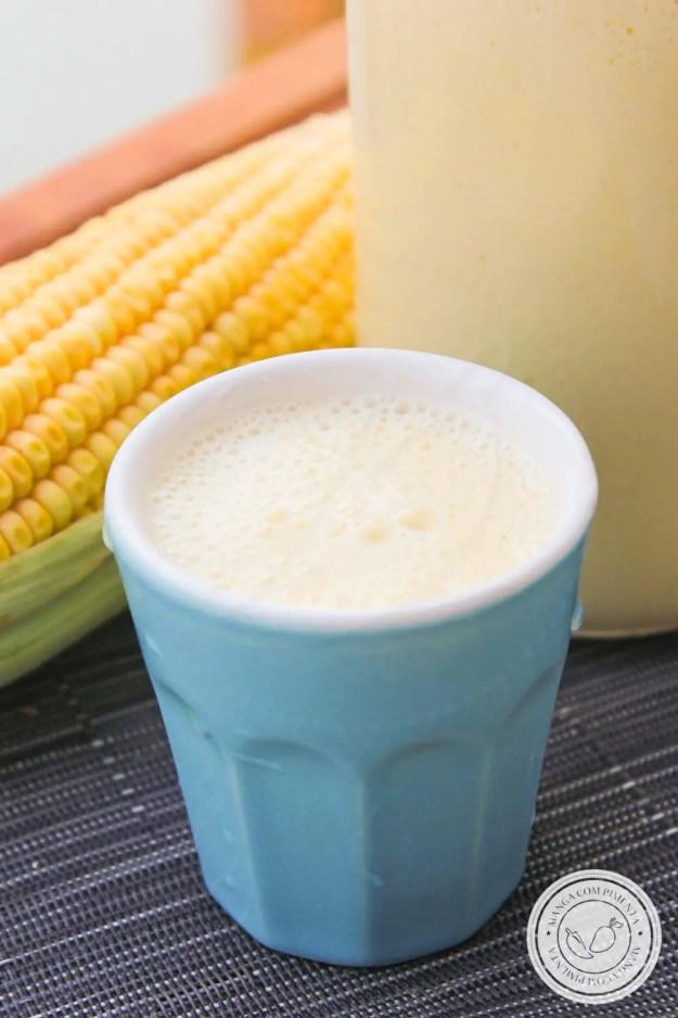 Suco de Milho Verde Cremoso | Aprenda a fazer uma bebida com gostinho do interior!