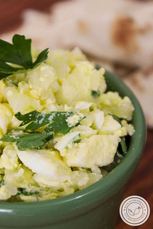 Pastinha de Ovos - para passar no pão e lanchar!