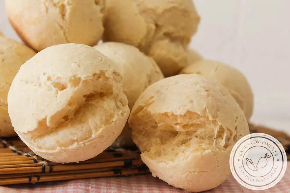 Pão de Mandioca e Polvilho - Sem Glúten | Perfeito para o Lanche da tarde com a família