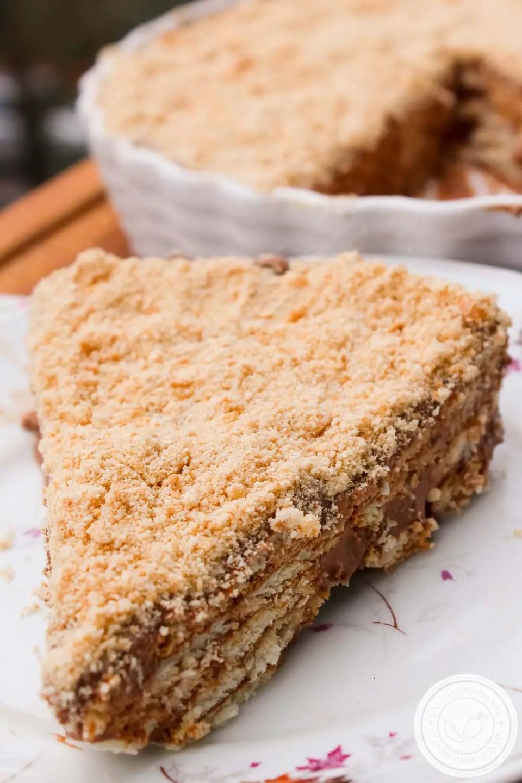 Torta de Biscoito e Chocolate - Essa sobremesa é super rápida de fazer, uma delícia de comer!
