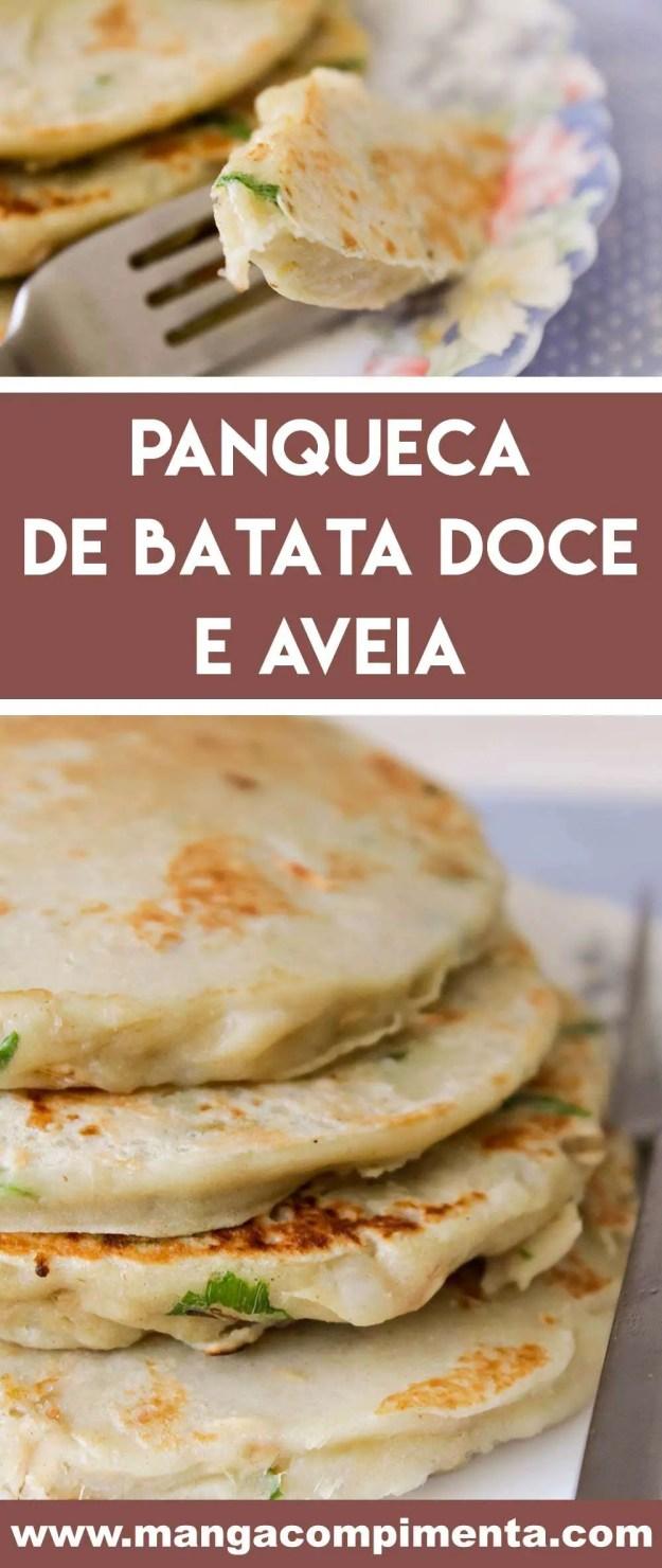 Panqueca de Batata Doce e Aveia - prepare um prato leve e diferente para o almoço!