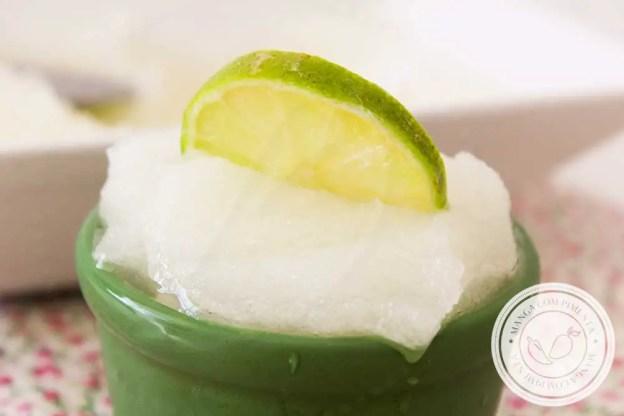 Receita de Sorbet de Limão - faça esse doce azedinho neste verão!