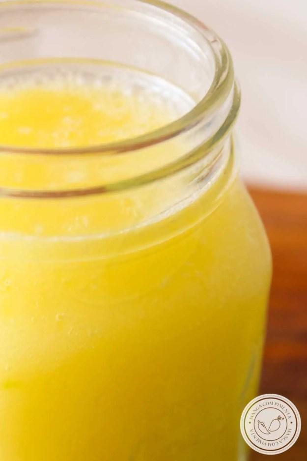 Suco de Frutas com Limão