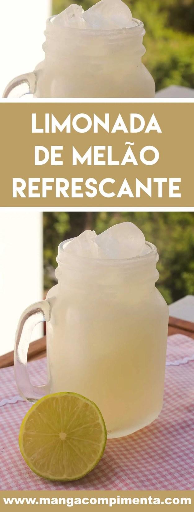 Receita de Limonada de Melão Refrescante - uma bebida nutritiva e gostosa para o verão!