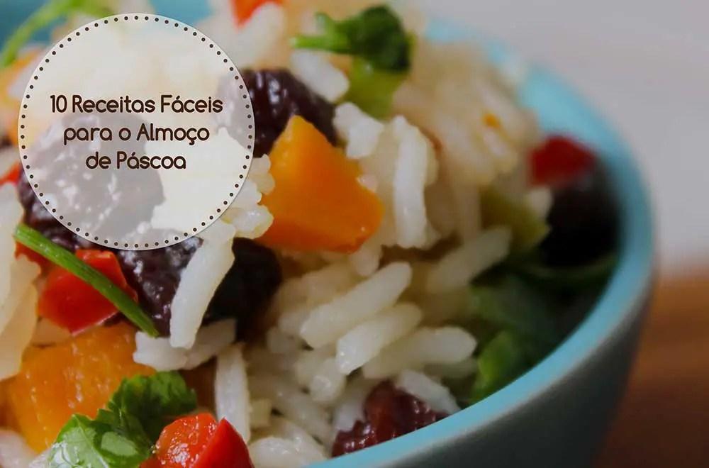 Confira agora as 10 Receitas Fáceis para o Almoço de Páscoa do Blog Manga com Pimenta e faça bonito nesse feriado!