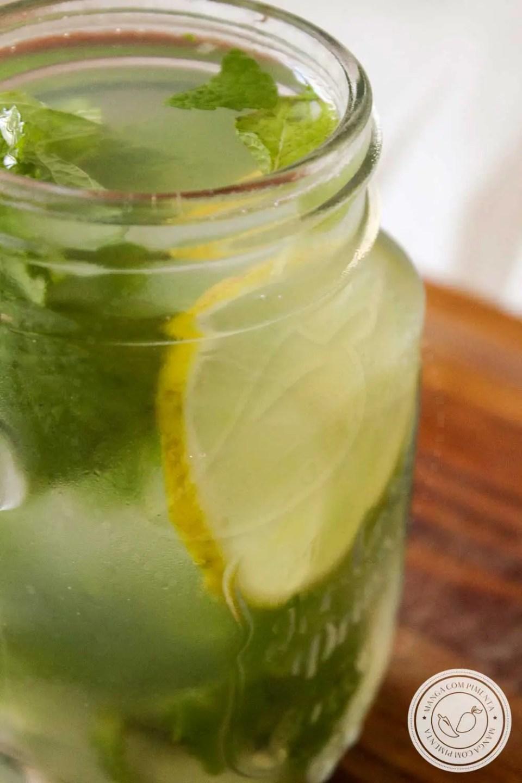 Agua Com Mel E Canela Beneficios suco de limão com mel e hortelã - manga com pimenta