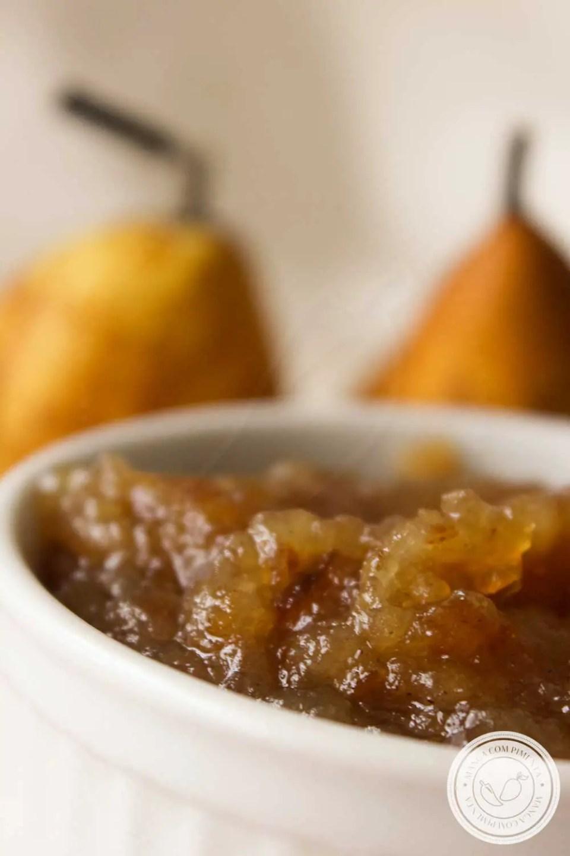 Receita de Geleia de Pera e Maçã - prepare para o lanche ou café da manhã!