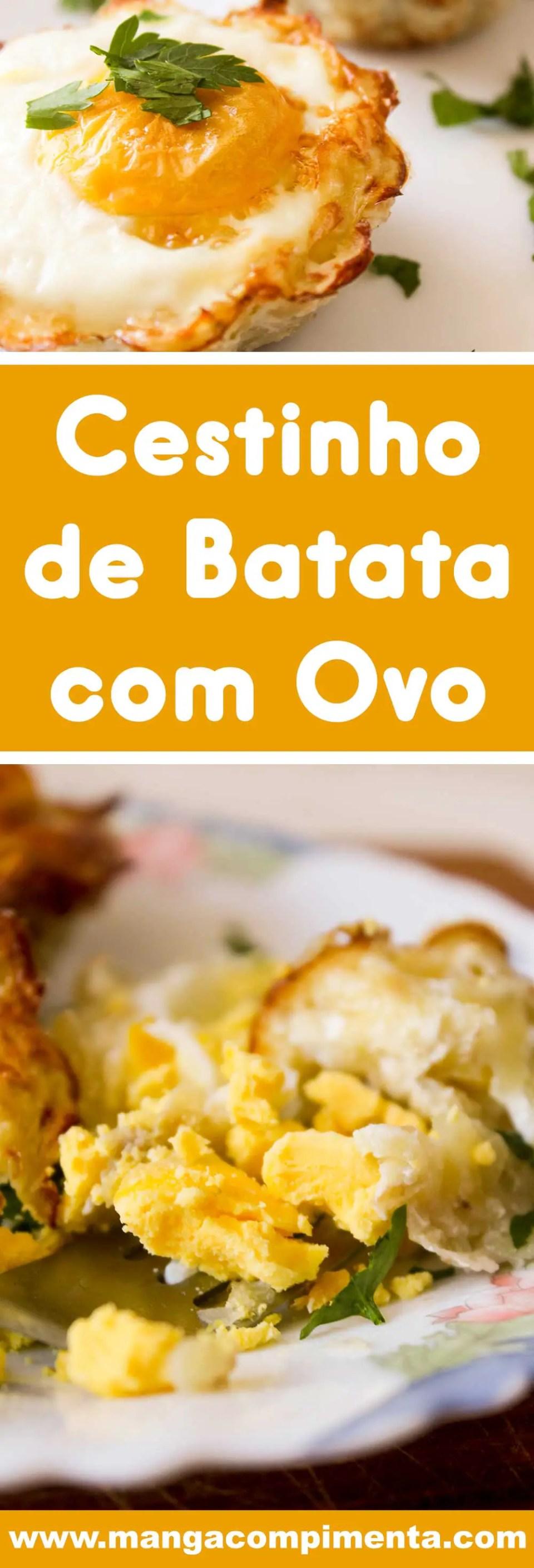 Receita de Cestinha de Batata com Ovo - faça algo novo para o café da manhã da pessoa que você mais ama!