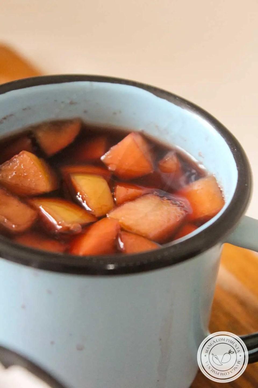 Receita de Vinho Quente Sem Álcool - aproveite e prepare uma bebida deliciosa para a sua Festa Junina ou Julina.