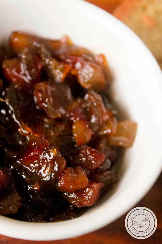 Bacon também pode virar uma entrada delícia.