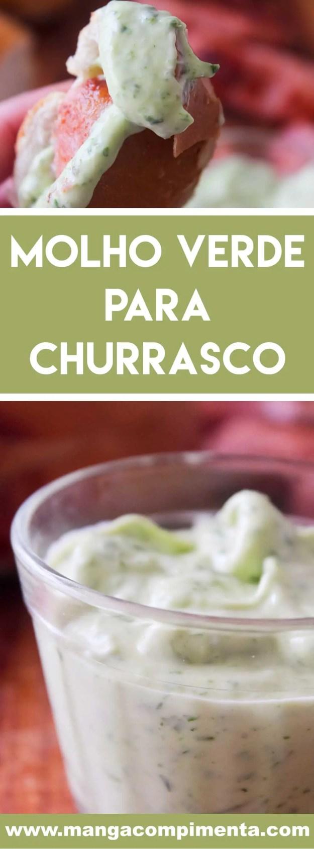 Receita de Molho Verde para Churrasco - aproveite o final de semana de churrasco com os amigos para servir bem!