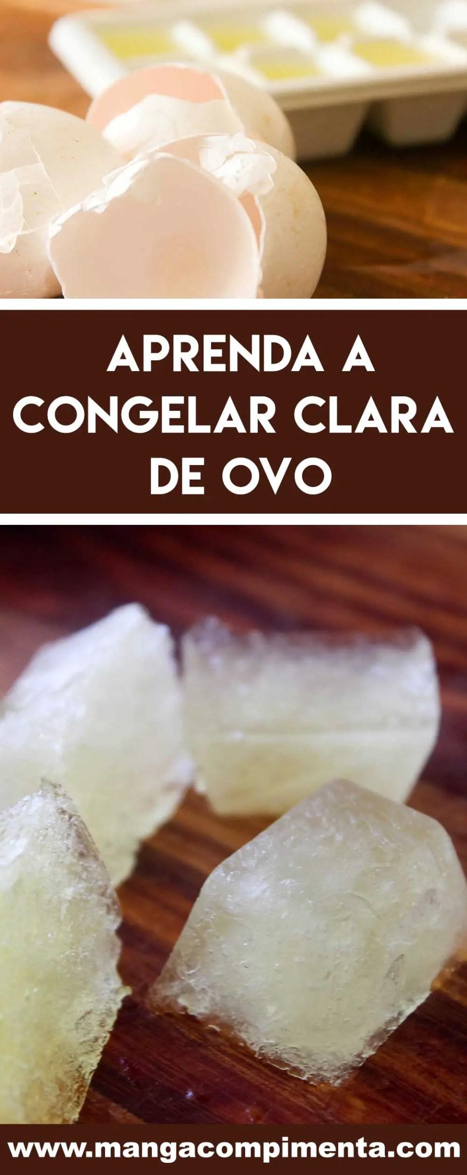 Aprenda Como Congelar Clara de Ovo e nunca mais jogue fora!