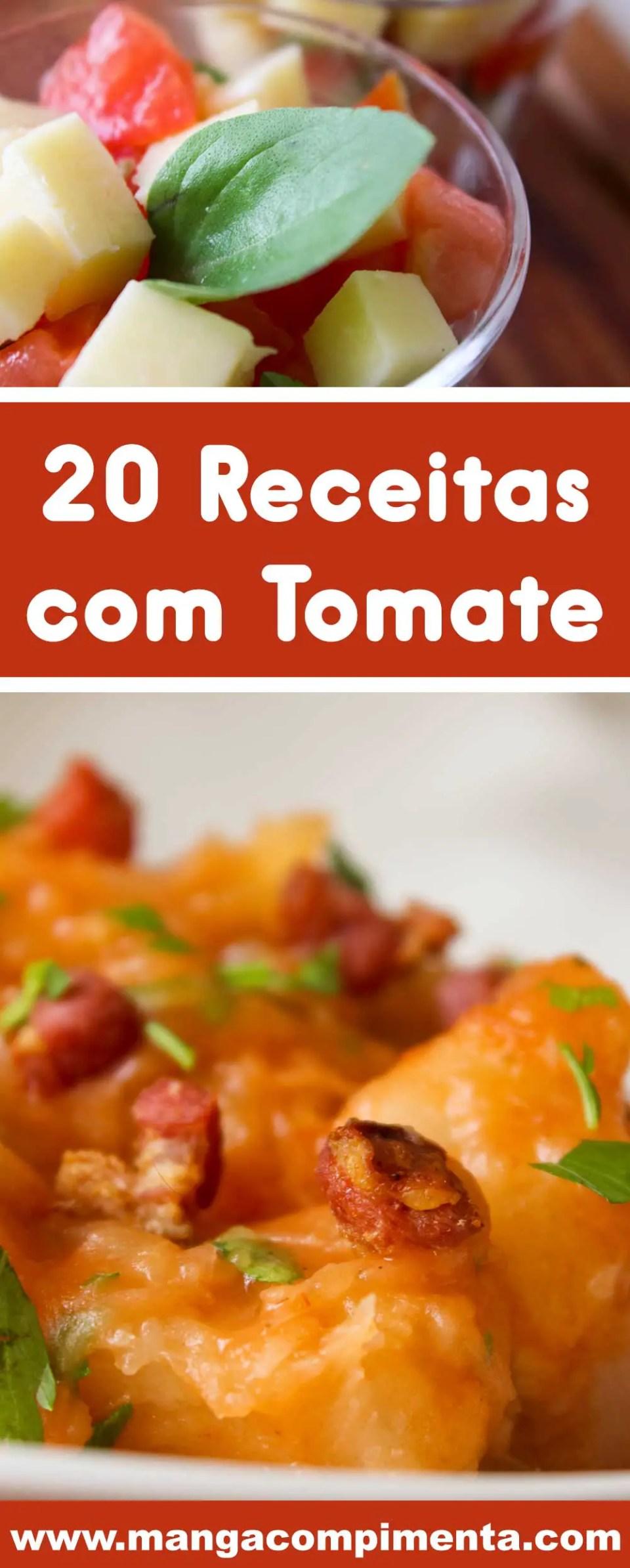Confira 20 Receitas com Tomate - pratos deliciosos para qualquer ocasião!