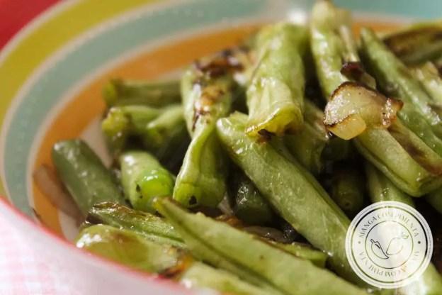 Receita de Vagem Chamuscada da Rita Lobo - dê mais sabor ao seu almoço ou jantar da semana!