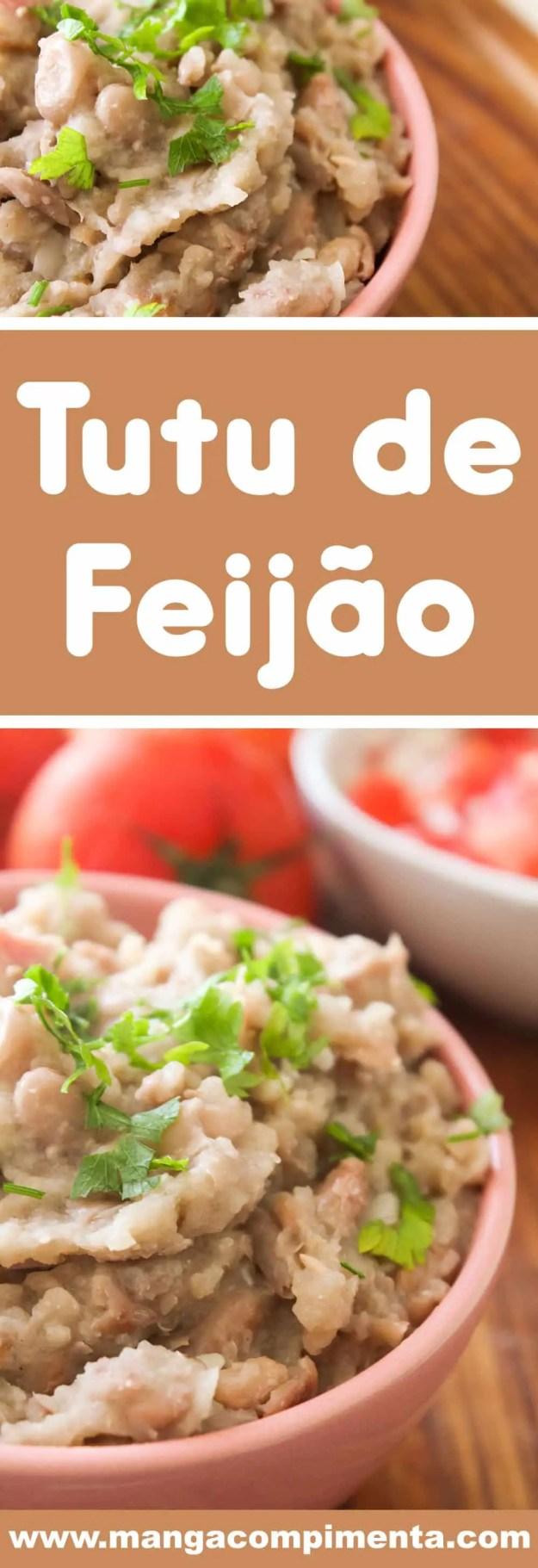 Receita de Tutu de Feijão - prepare um prato simples e delicioso para a sua família.