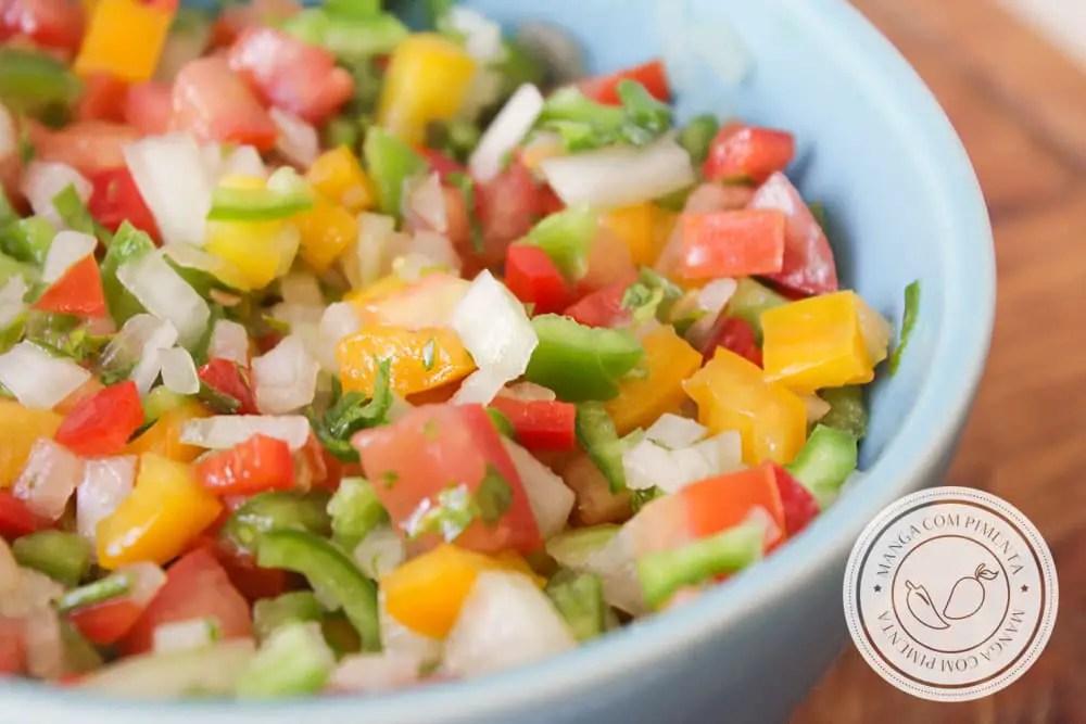 Receita de Molho Lambão - um molho baiano para deixar o seu almoço mais gostoso nesse verão.