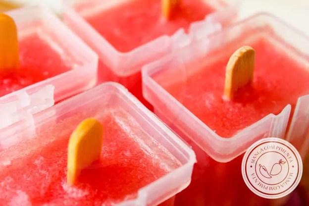 Receita de Picolé de Melancia Caseiro - prepare esse doce refrescante nesse verão!