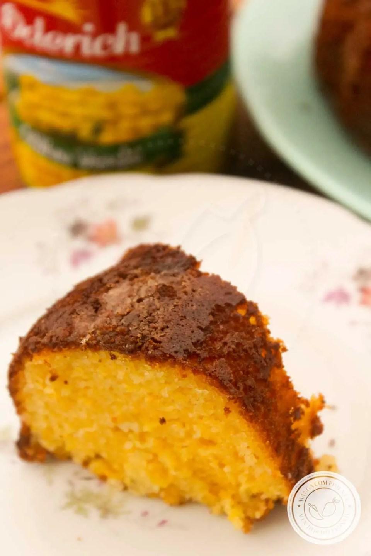 Receita de Bolo de Milho de Lata Fácil - prepare um bolo delicioso para a sua festa junina!