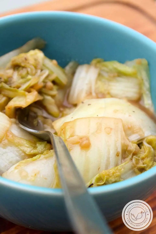 Receita de Acelga com Molho de Soja - prepare para acompanhar o almoço da semana!