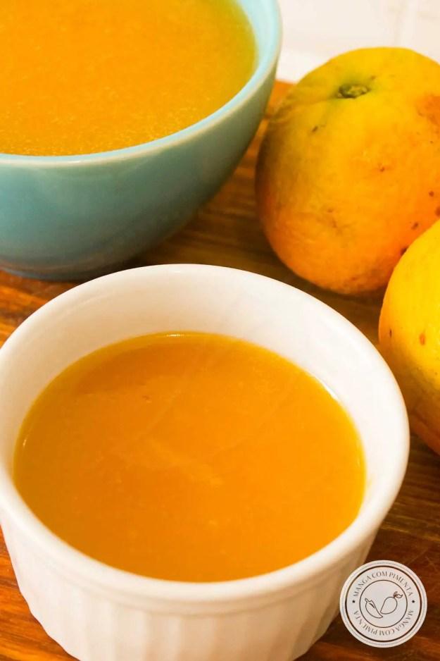 Receita de Creme de Laranja | Sugoli d'arancia - uma sobremesa antiga, daquelas do caderno da vovó, que agrada a família inteira!