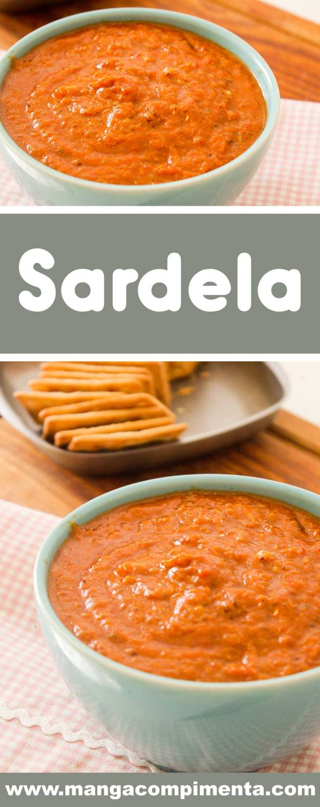 Receita de Sardela - um prato italiano para comer com pão, um lanche especial!