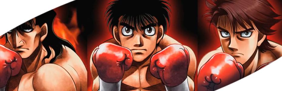 Hajime no Ippo toda una franquicia deportiva