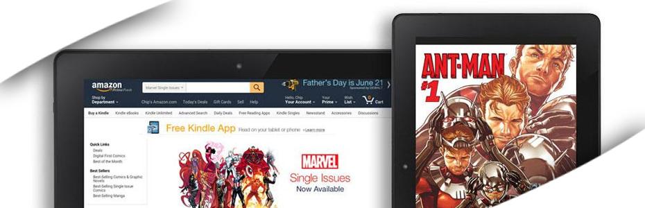 Marvel renueva compromiso con lo digital y se une a Kindle