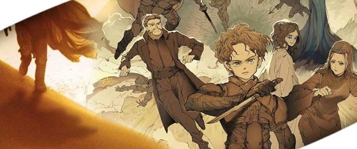 Ilustrador de The Promised Neverland hace homenaje a Dune