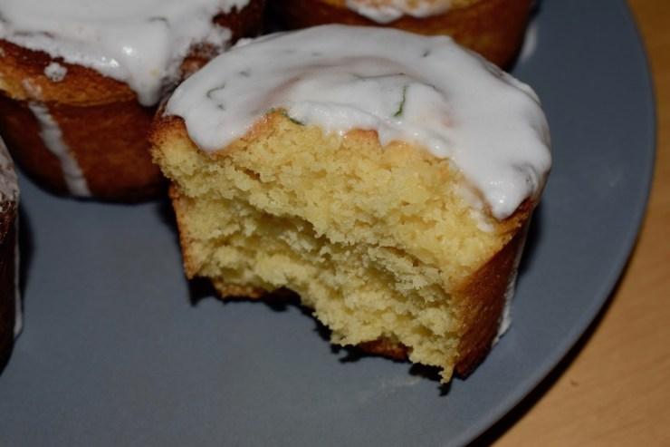 cupcake chocolat blanc, citron menthe fraîche