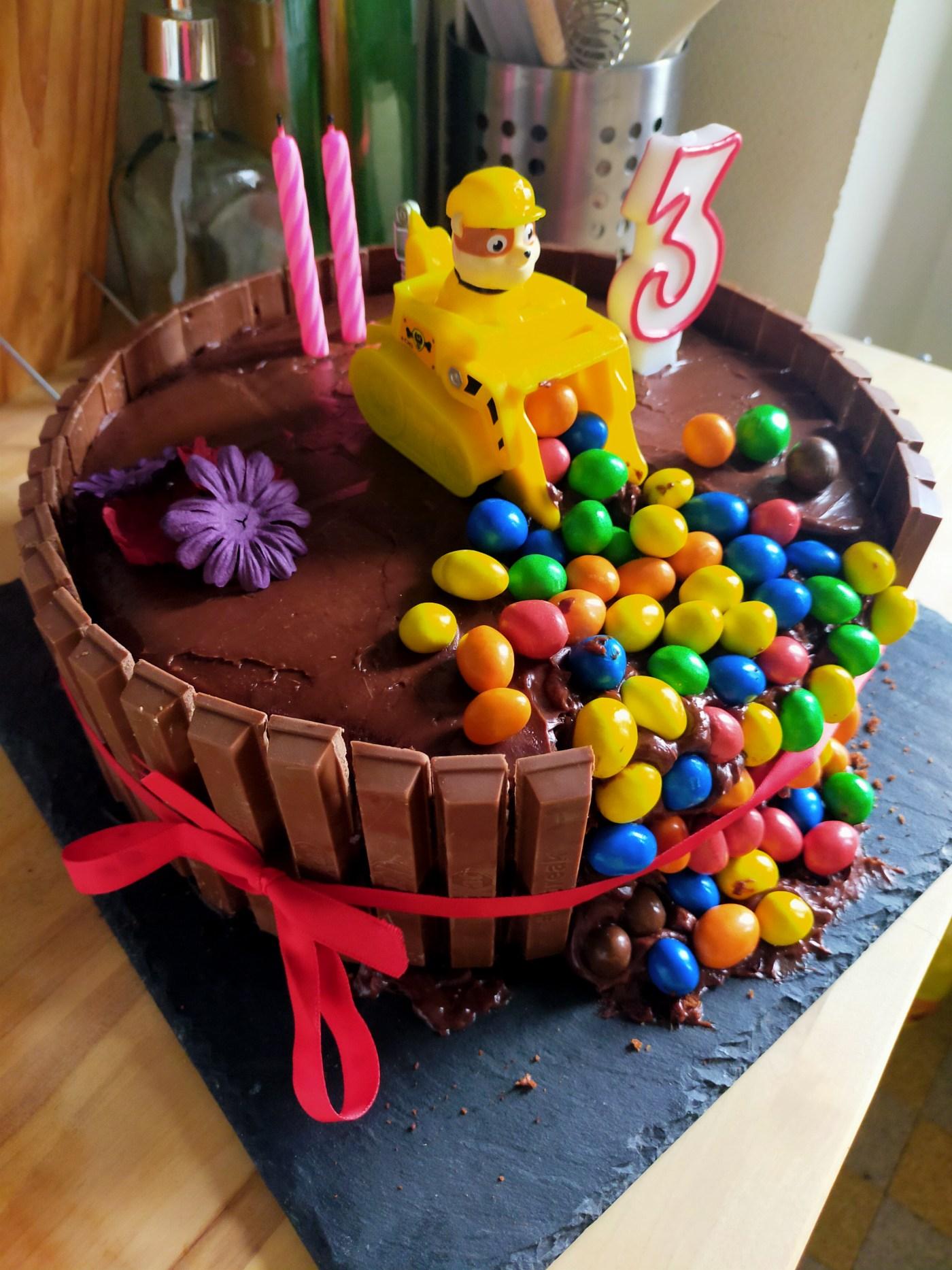 Gâteau du diable - pat patrouille