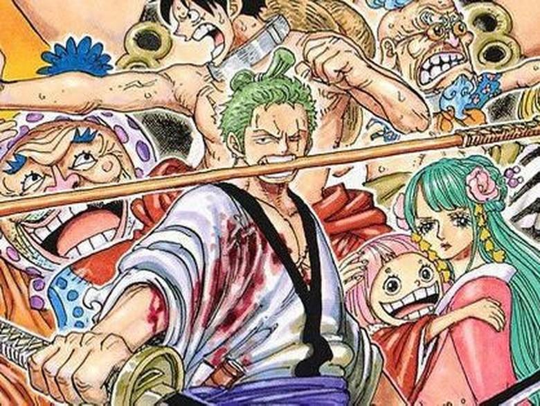 Roronoa Zoro kini akan dibuat serial komik pendek yang digambar oleh Boichi.