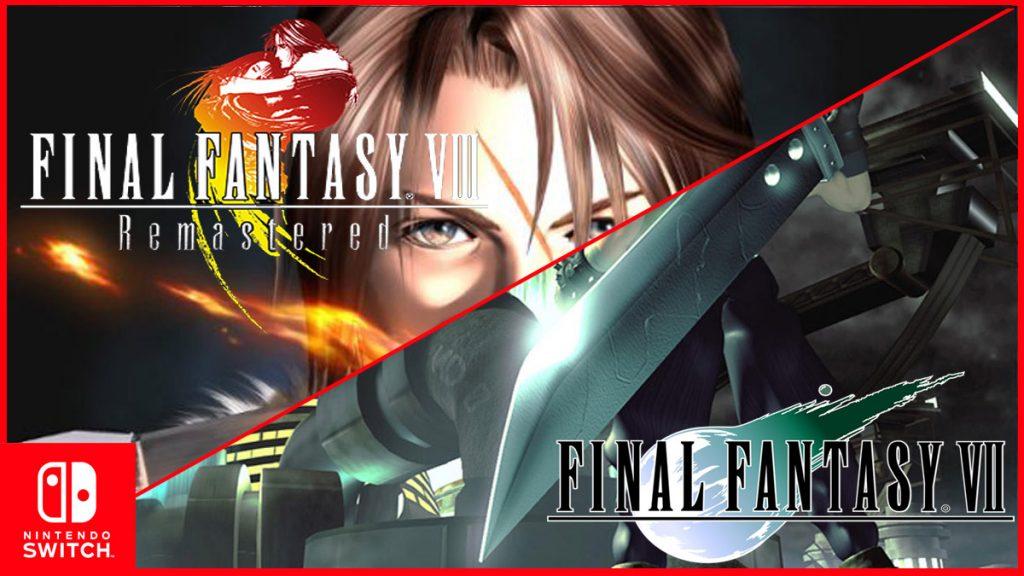 Final Fantasy VII & VIII Akan Dirilis Untuk Switch