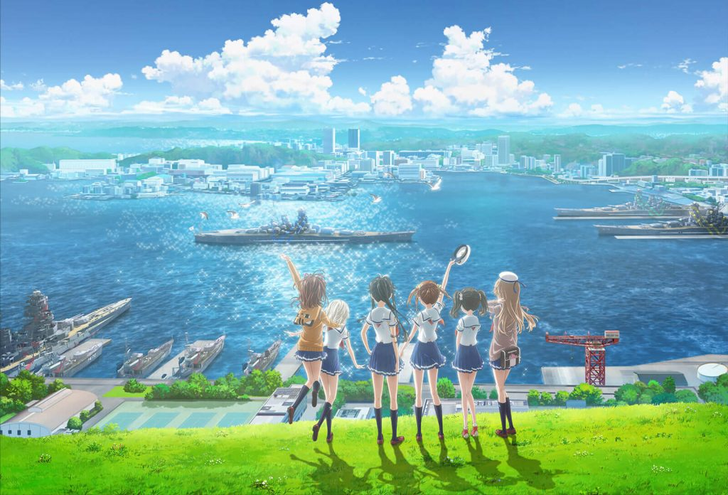 Anime Haifuri Movie Tampilkan Teaser Terbaru