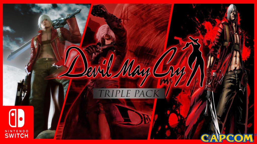 Devil May Cry Triple Pack Diumumkan Untuk Switch!