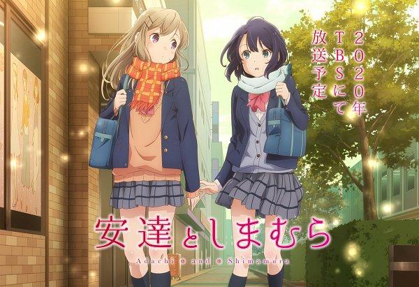 Anime Adachi to Shimamura Tampilkan Para Cast Terbaru