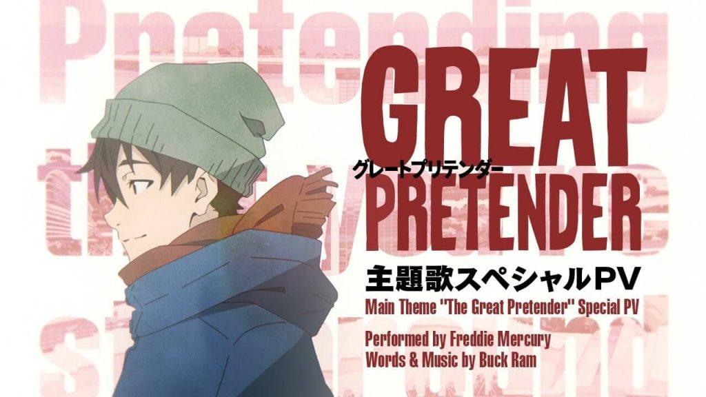 Great Pretender oleh Freddie Mercury Akan Jadi Lagu Tema Anime Great Pretender