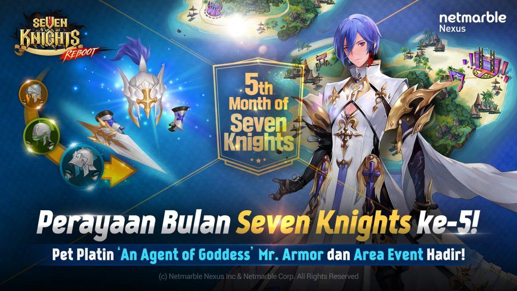 Seven Knights Update Skala Besar Perayaan 5 Tahun Dengan Big Carnival 77 Hari