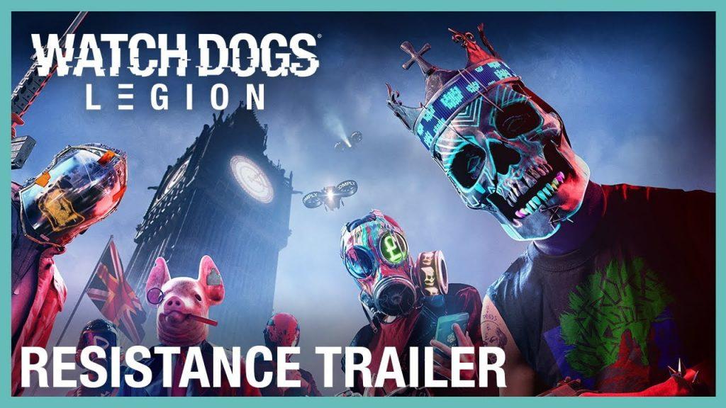 Watch Dogs: Legion Perlihat Trailer Grup Resistence