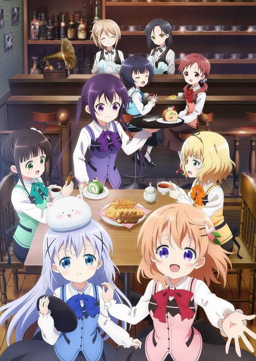 Anime Gochuumon Wa Usagi Desu Ka Bloom Tampilkan Preview Lagu Tema