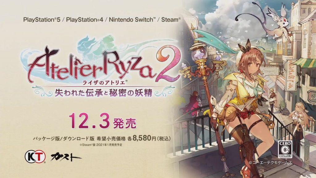 Atelier Ryza 2 Juga Bisa Dimainkan di PS5