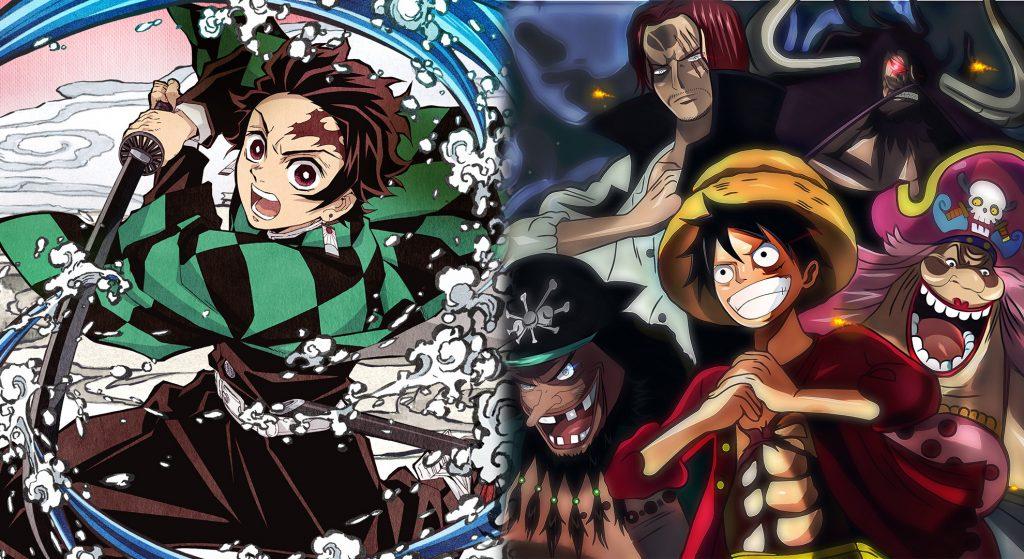 Shueisha Akan Cegah Kimetsu no Yaiba Pecahkan Rekor Manga One Piece