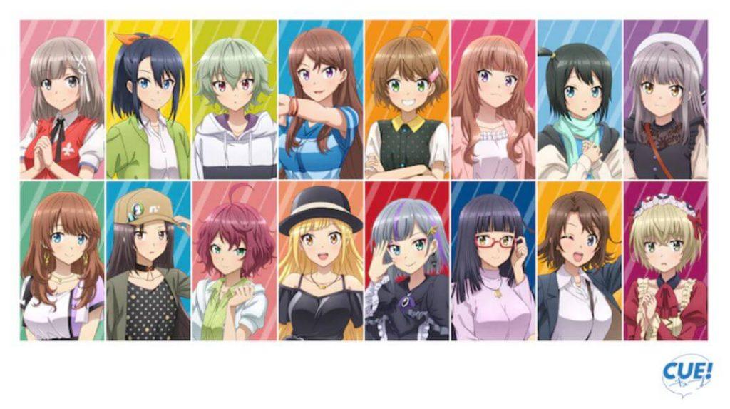 Game Simulasi Seiyuu CUE! Umumkan Adaptasi Anime