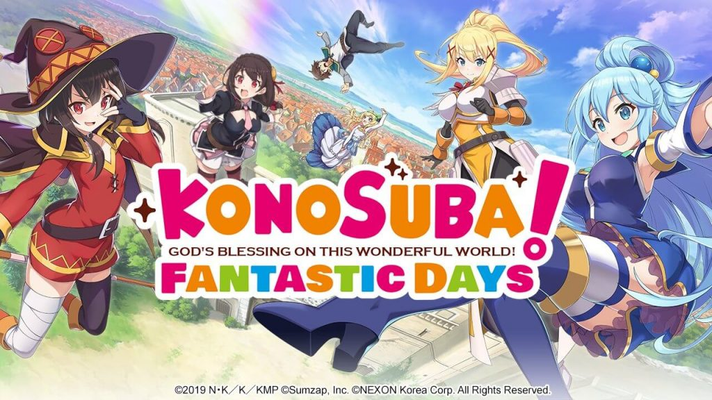 Konosuba: Fantastic Days Umumkan Perilisan Global