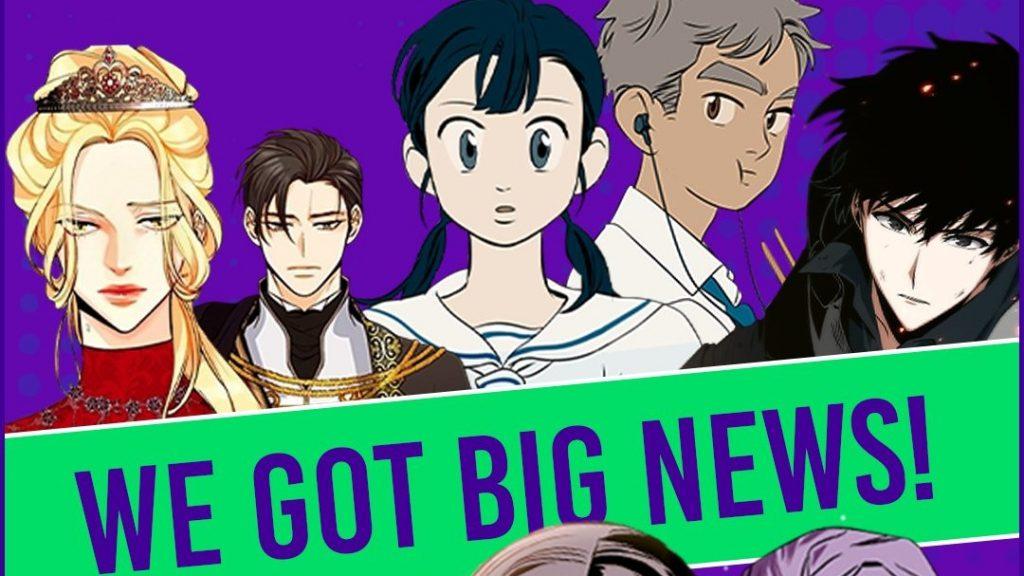 Webtoon Umumkan 5 Manhwa Yang Mendapatkan Adaptasi Animasi dan Live Action