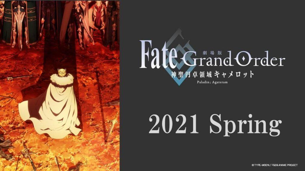 Fate/Grand Order: Camelot Ungkap Musim Tayang Film Keduanya